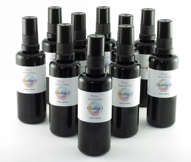 Flow Remedies Chakra Aura Spray Set, grote afbeelding