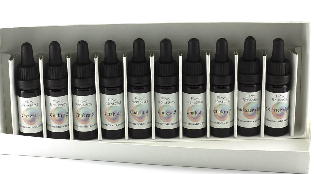 Flow Remedies edelsteenremedie combinaties - Chakra Serie